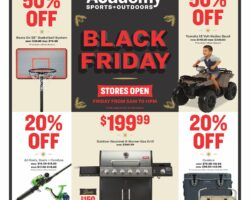 Academy Sports Black Friday Ad 2020