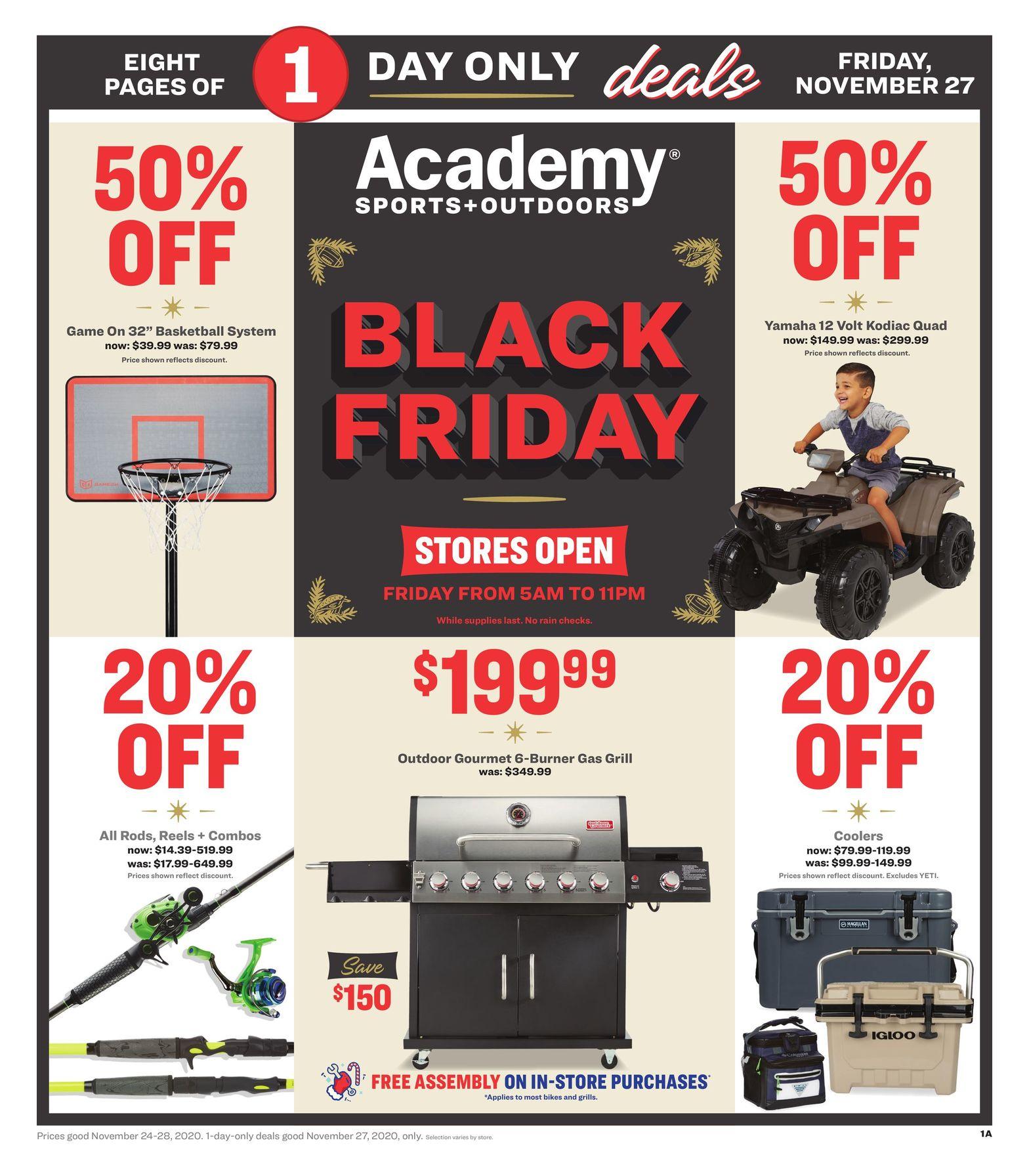 Academy Sports Black Friday Ad 2020