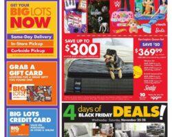 Big Lots Black Fiday Sale 2020 - Week of 11/25