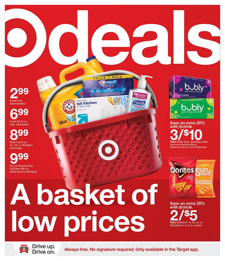 Target Weekly Sales Ad January 17 - January 23, 2021