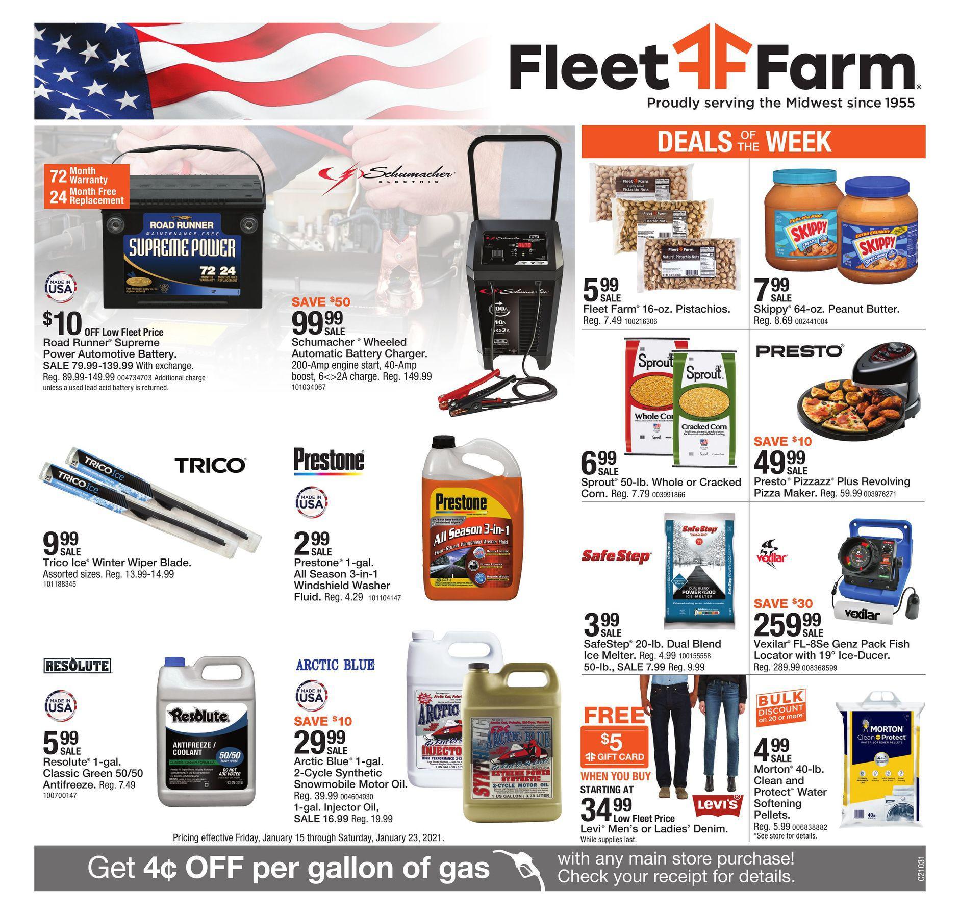 Fleet Farm Weekly Ad January 15 - January 23, 2021