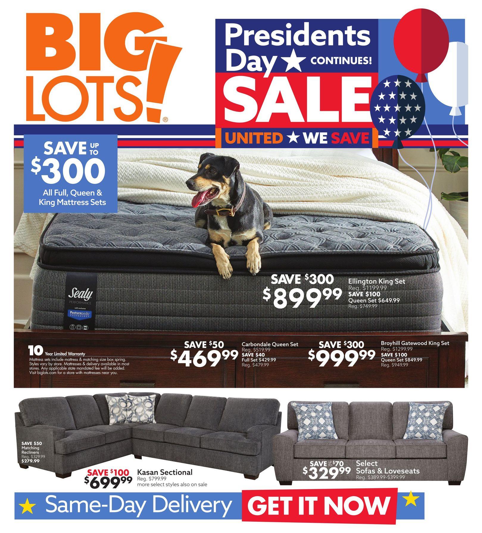 Big Lots Weekly Ad February 21 - February 27, 2021