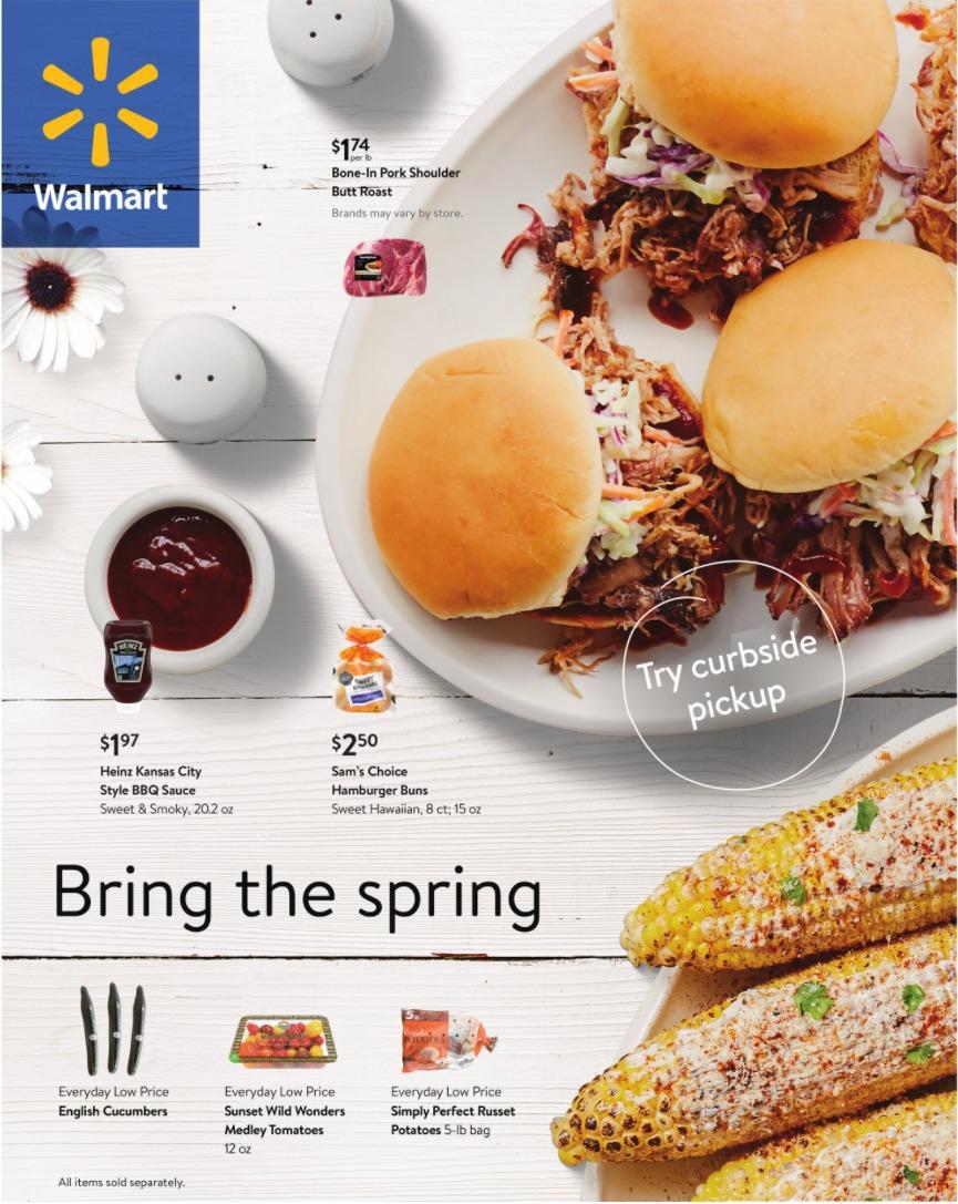Walmart Weekly Ad April 5 - April 27, 2021.