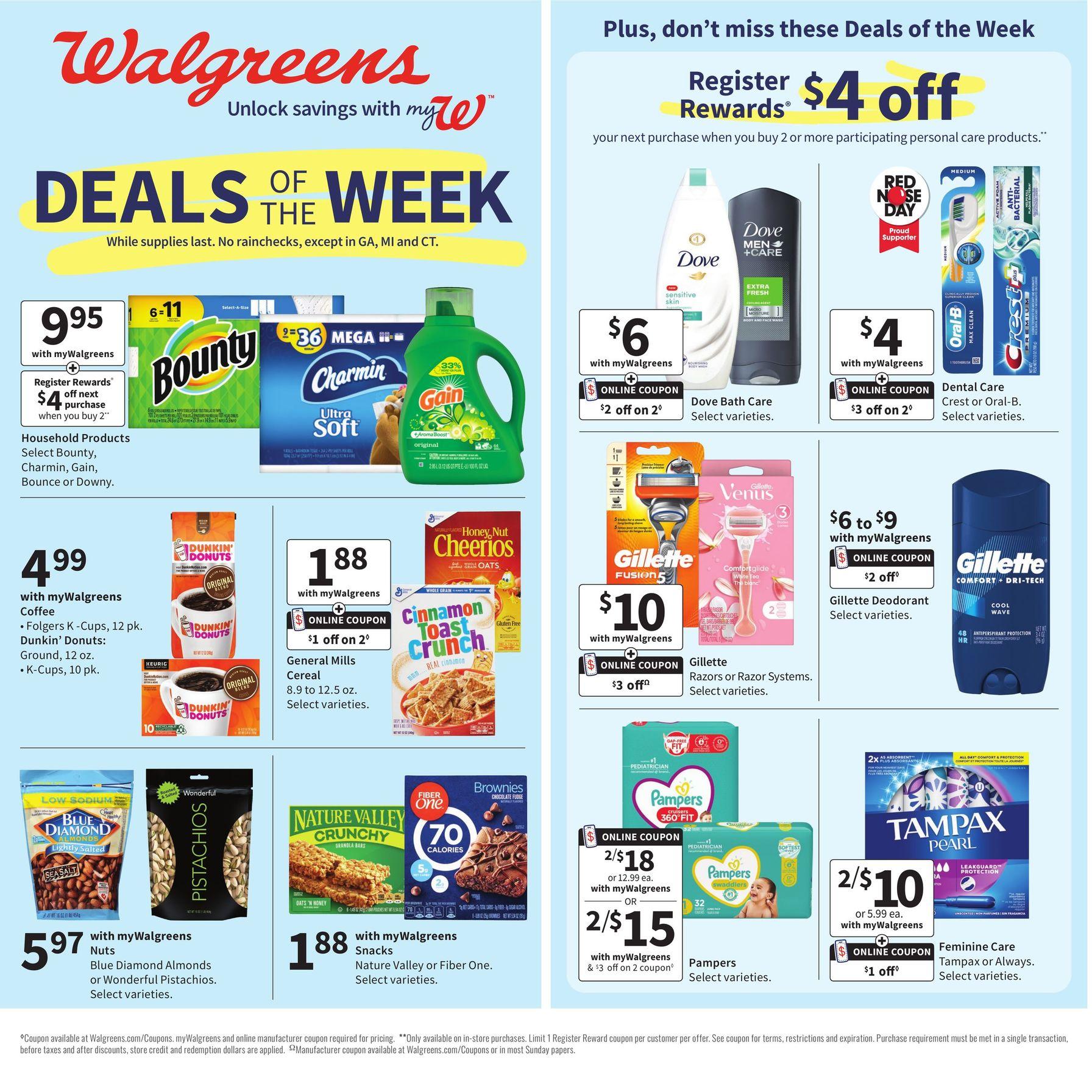 Walgreens Weekly Ad Sale April 11 - April 17, 2021