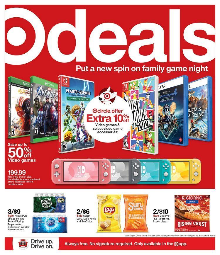 Target Weekly Ad April 11 - April 17 2021.