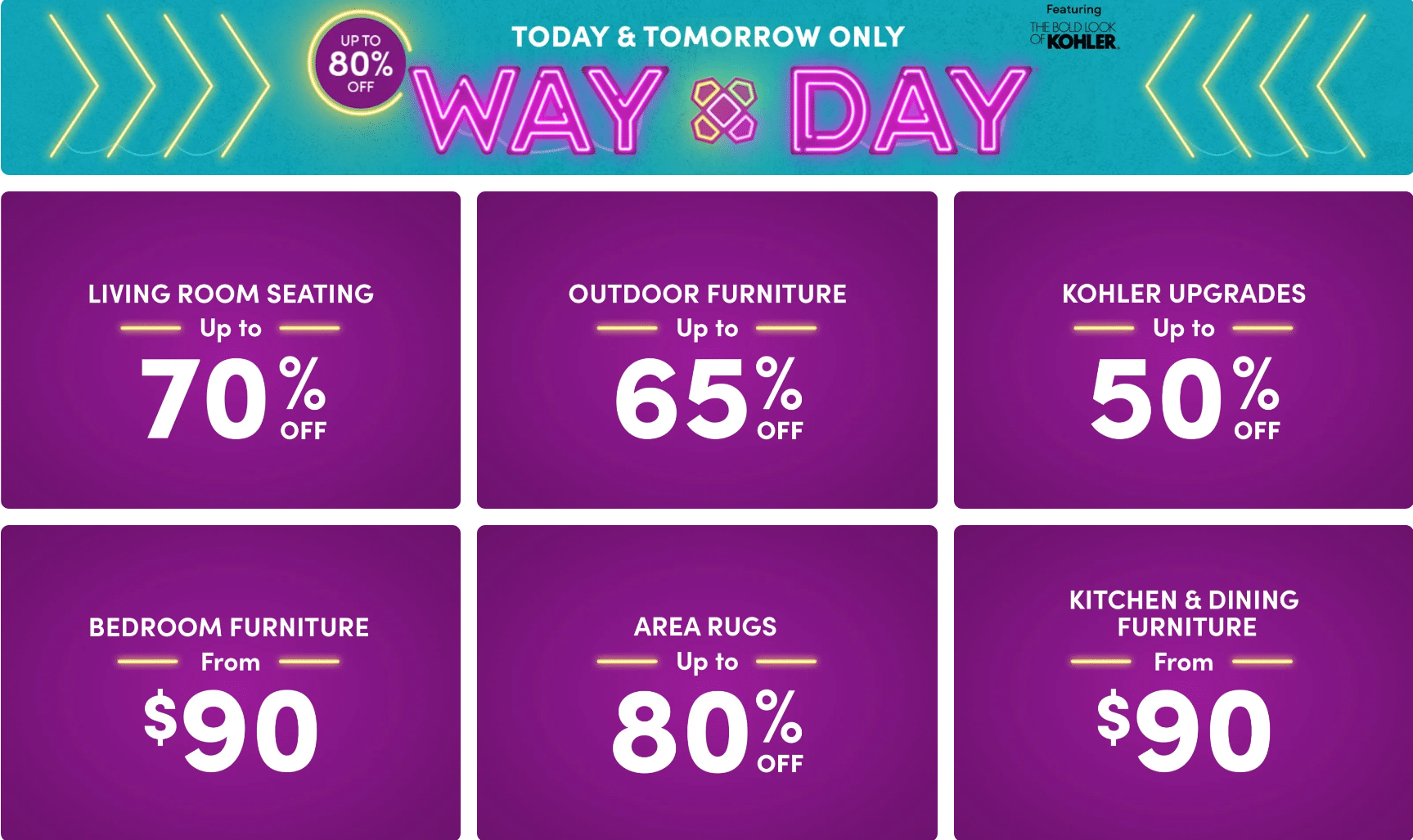 Wayfair Way Day Sale 2021