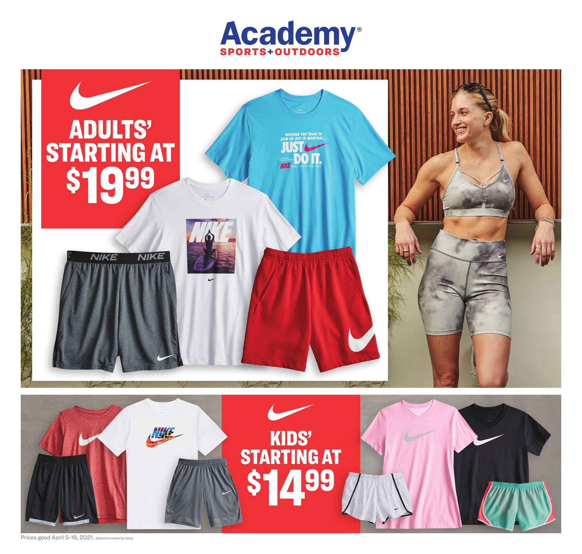 Academy Sports Weekly Ad April 5 - April 18, 2021