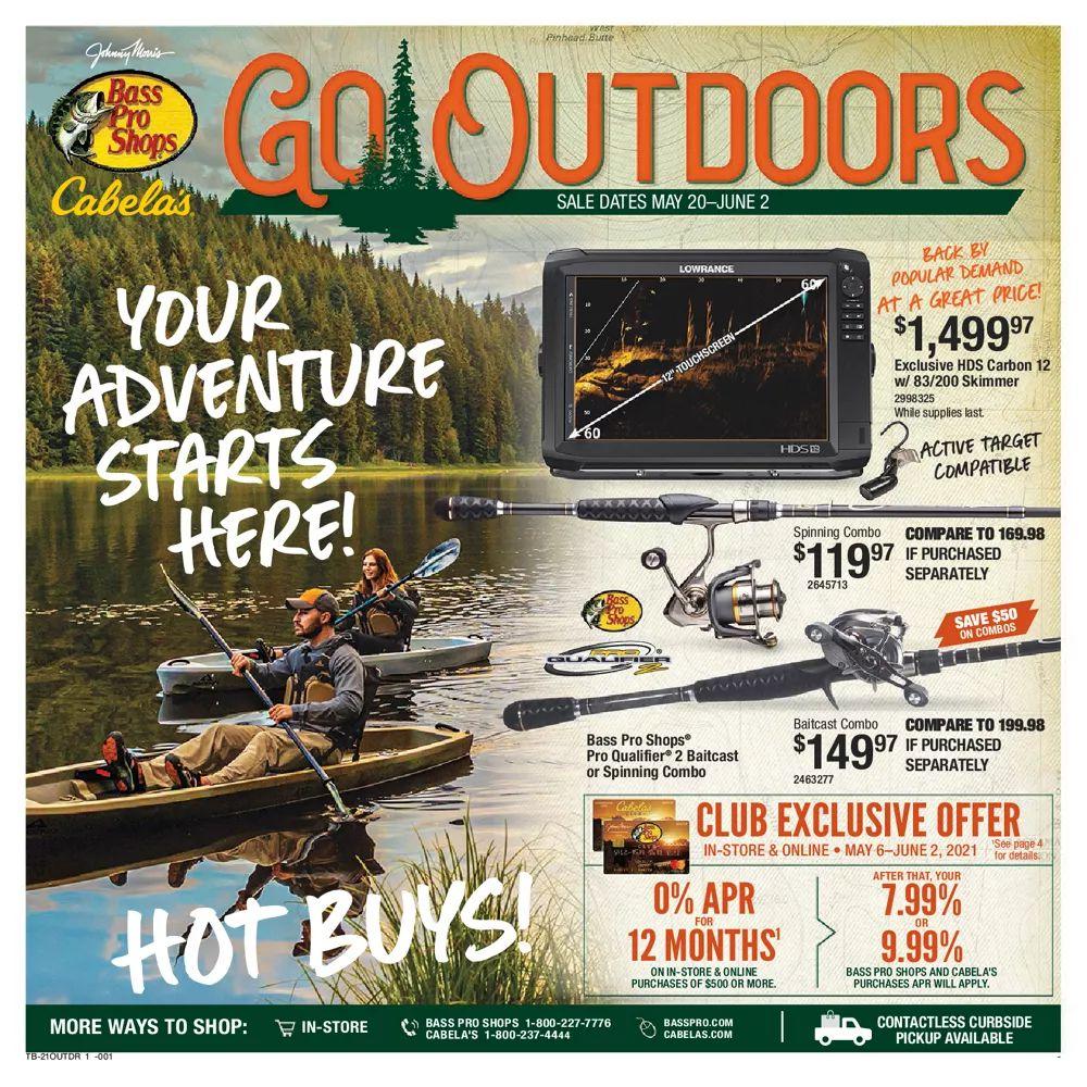 Bass Pro Shops Weekly Ad May 20 - June 2, 2021
