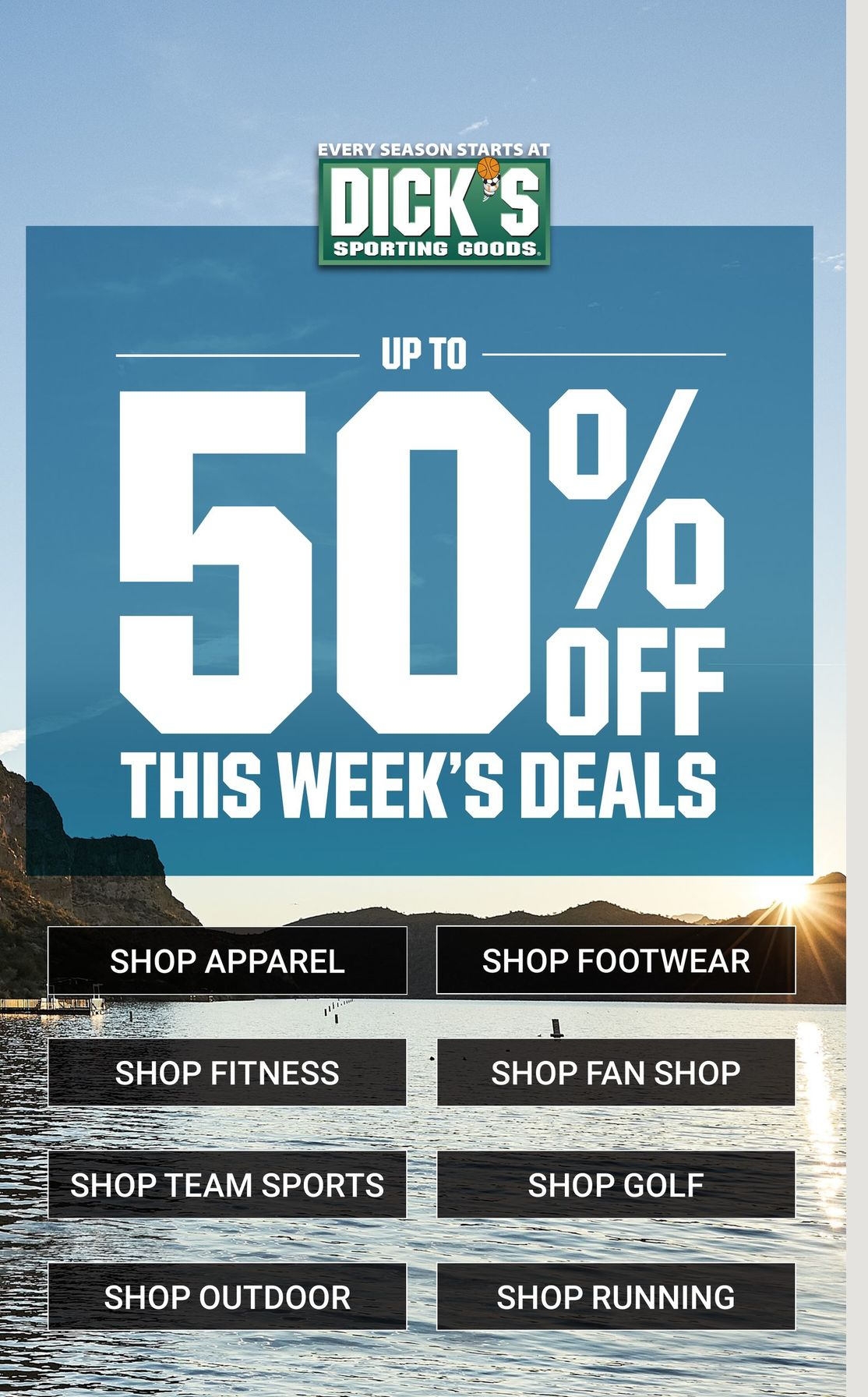 Dick's Weekly Ad June 6 - June 12, 2021. Up To 50% OFF!