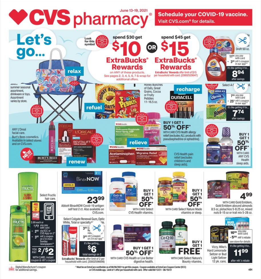 CVS Ad Circular June 13 - June 19, 2021