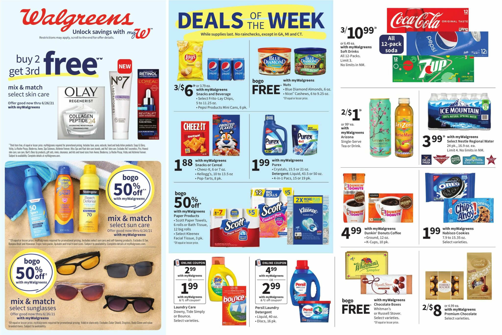 Walgreens Weekly Ad Sale June 13 - June 19, 2021